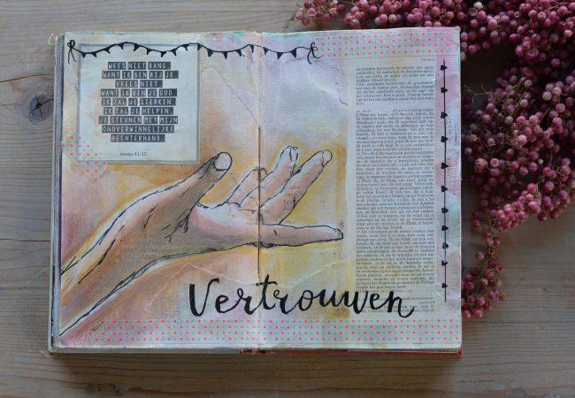 Vertrouwen Ineke Bible Art Journaling