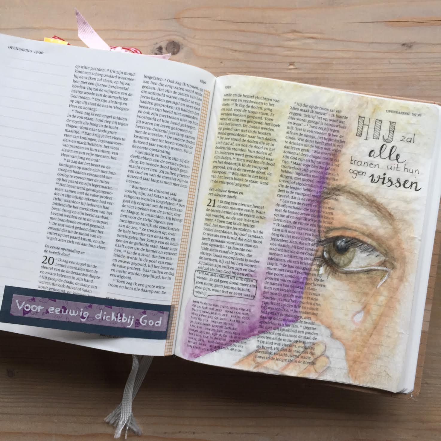 Biblejournaling Openbaring 21: 1-8