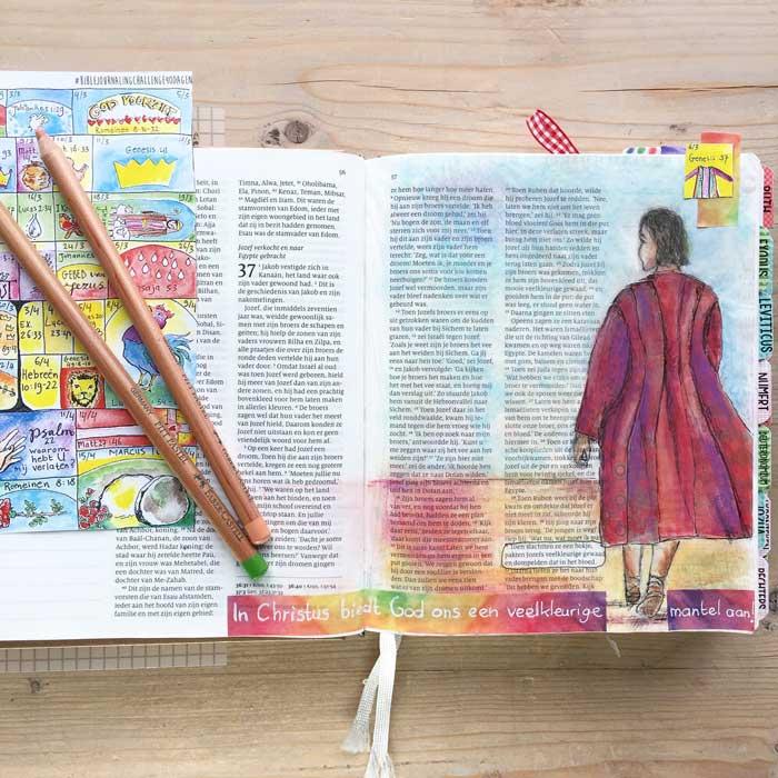 Biblejournaling Genesis 37
