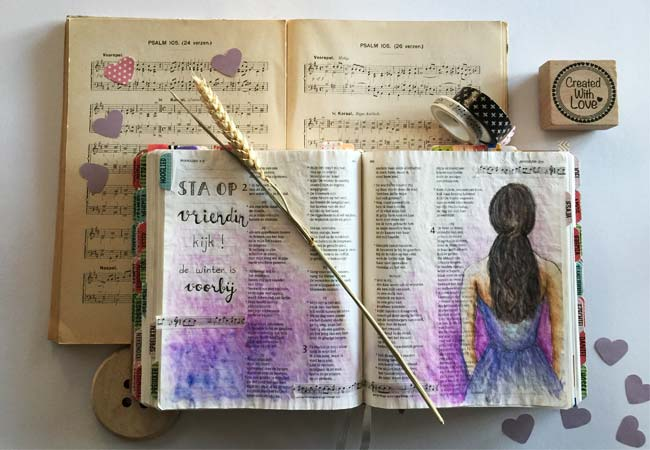 Sta Op Vriendin Bible Art Journaling