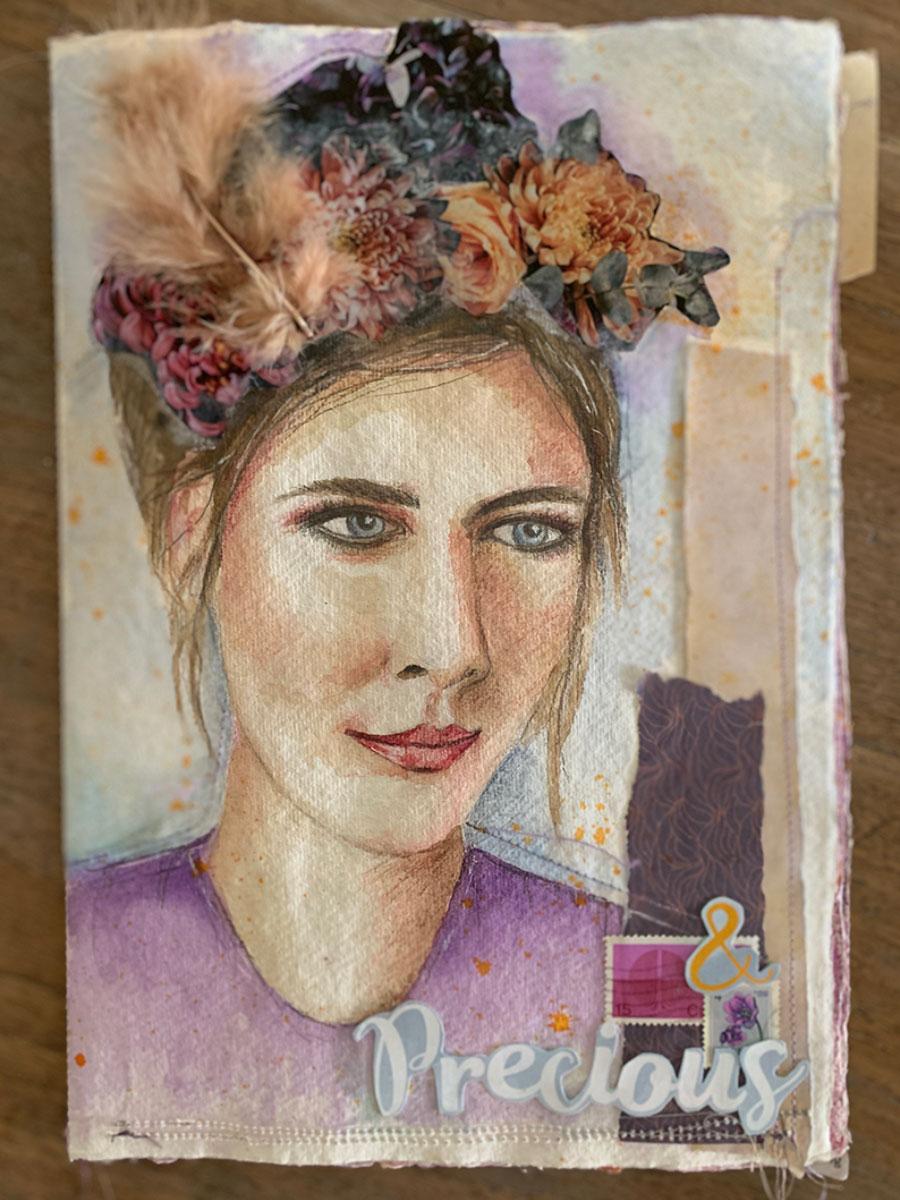 Portret Art Journal